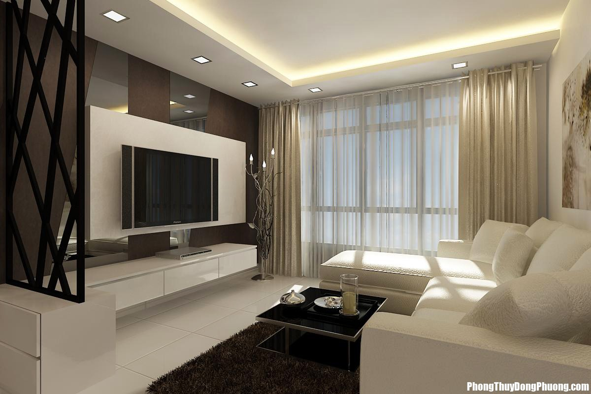 Bedroom Tv Console Gallery With Design Ideas Pictures Floating Table In Futuristic Interior Plus Fancy Shaped White Sofa And  Những đồ tuyệt đối tránh bày trong phòng khách nếu không muốn gặp họa
