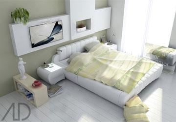 chonmauphongngu1 Chọn màu phòng ngủ theo mệnh