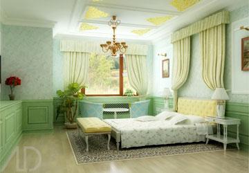 chonmauphongngu2 Chọn màu phòng ngủ theo mệnh