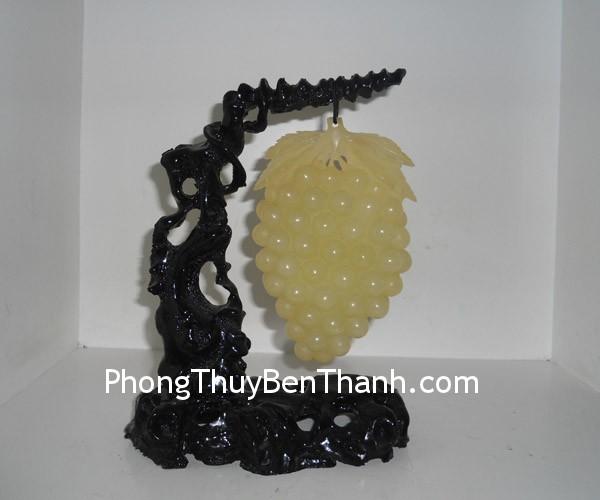 chum nho Lieu ninh Chùm nho đá ngọc Liêu Ninh biểu tượng sung túc no đủ K050