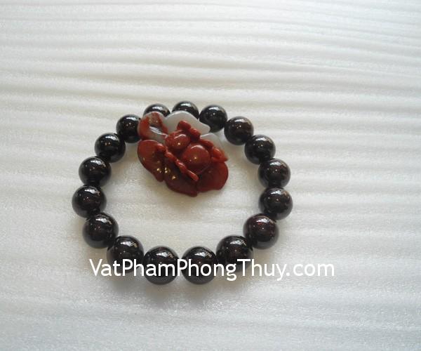 chuoi da hot luu s2052 2080 01 Chuỗi trang sức đá hột lựu đỏ tăng vẻ quyến rũ S2052 2080