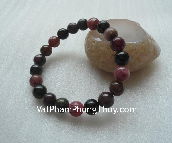 chuoi ngoc hong luc bao s2065 4723 02 Chuỗi trang sức đá ngọc hồng lục bảo dịu dàng quý phái S2068 4723