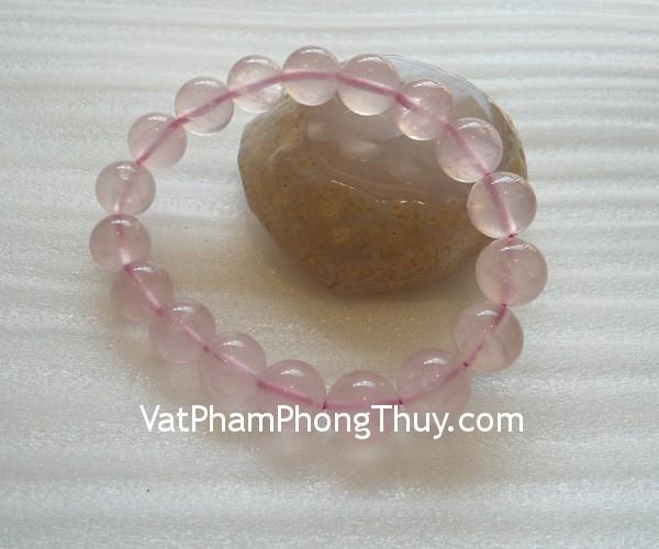 chuoi thach anh hong s2051 1075 Chuỗi trang sức đá thạch anh hồng cải thiện mối quan hệ S2051 1075