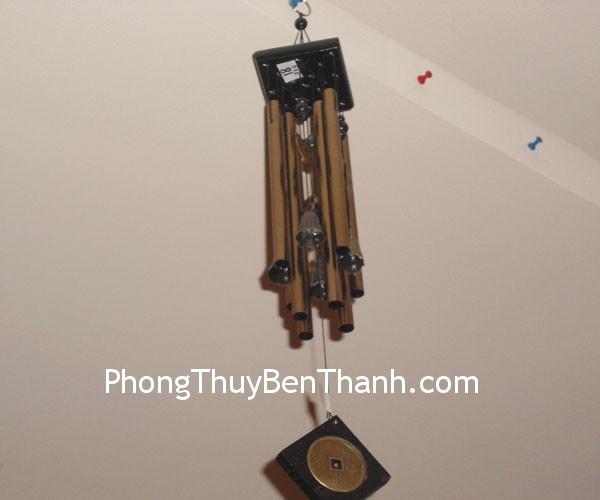chuong gio c1118 03 Chuông gió phong thủy treo thanh kim loại giải sao xấu C1118