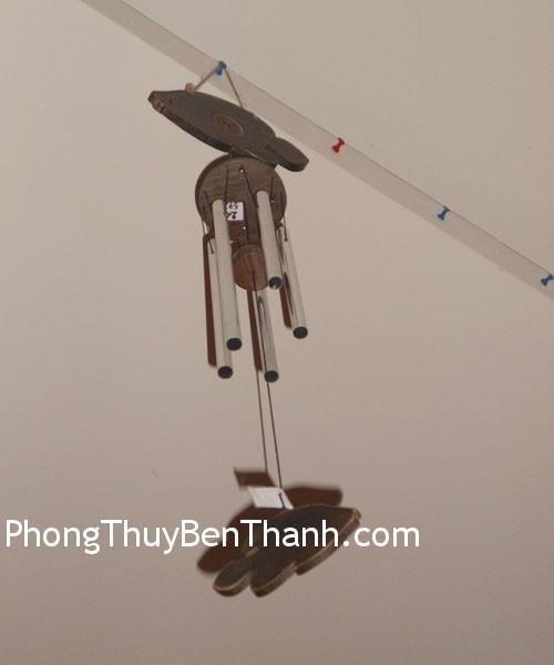 chuong gio c1124 02 Chuông gió phong thủy treo 5 thanh kim loại hóa giải sao ngũ hoàng C1124