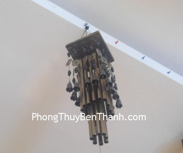 chuong gio c1142 Chuông gió phong thủy treo nhiều ống kim loại trừ giải sát khí C1142