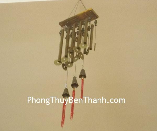 chuong gio c1146 Chuông gió phong thủy treo 10 thanh kim loại trừ khử sao xấu C1146