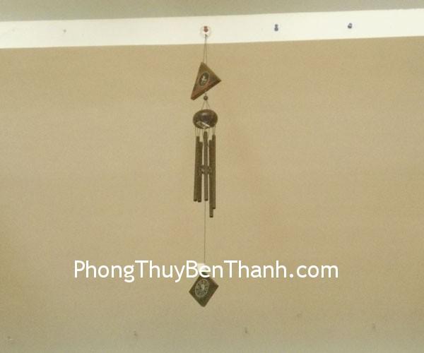 chuong gio ong dong c1120 01 Chuông gió phong thủy treo 5 thanh kim loại kích hoạt năng lượng C1120