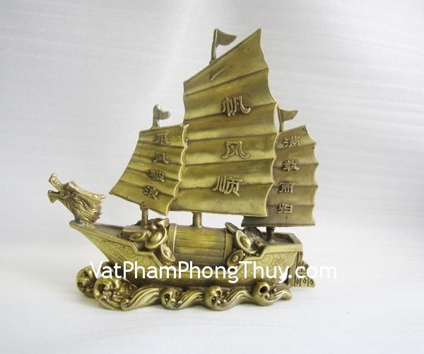 d133 thuyen dong dung Thuyền buồm đầu rồng đồng nguyên chất công việc ổn định D133