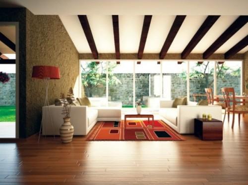 file.403671 Màu sắc sàn phòng khách theo phong thủy