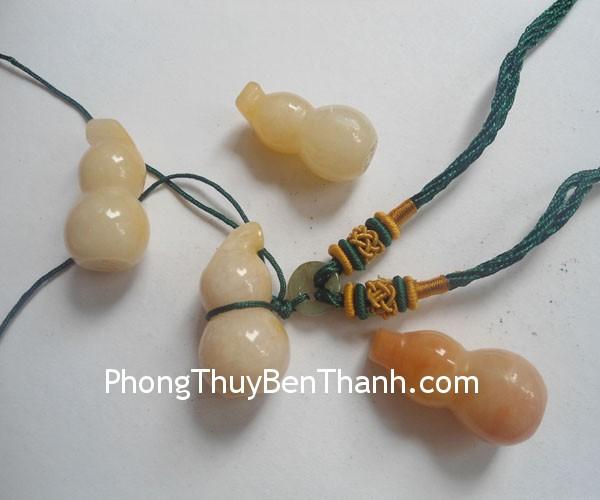 ho lo hoang long moc s557 01 Mặt trang sức Hồ lô đeo cổ đá ngọc Hoàng Long sức khỏe bình an S557