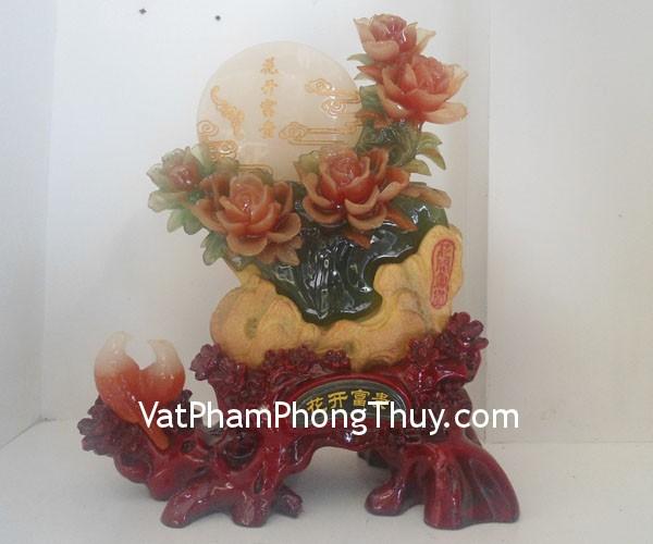 mau don phu quy f177 Hoa Mẫu đơn bột đá màu Quảng Đông phú quý đinh thịnh F177