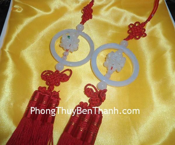ngoc boi vong nguyet bao Ngọc bội treo vòng nguyệt bảo đá ngọc miến điện biểu tượng như ý S541