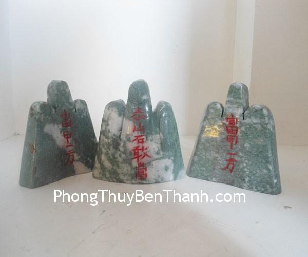 nui thai son xanh dt173 02 Núi Thái sơn xanh độc sơn ngọc ngăn ngừa sát khí DT173