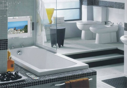 phong ve sinh dep va hop phong thuy1 Một số nguyên tắc phong thủy khi thiết kế nhà vệ sinh