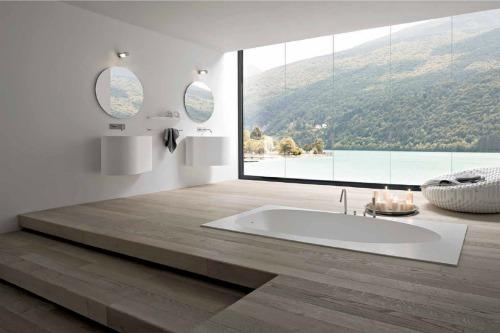 phong ve sinh dep va hop phong thuy2 Một số nguyên tắc phong thủy khi thiết kế nhà vệ sinh