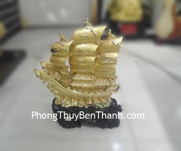 thuyen buom f161 Thuyền buồm rồng bột đá mạ vàng nhất phàng phong thuận F161