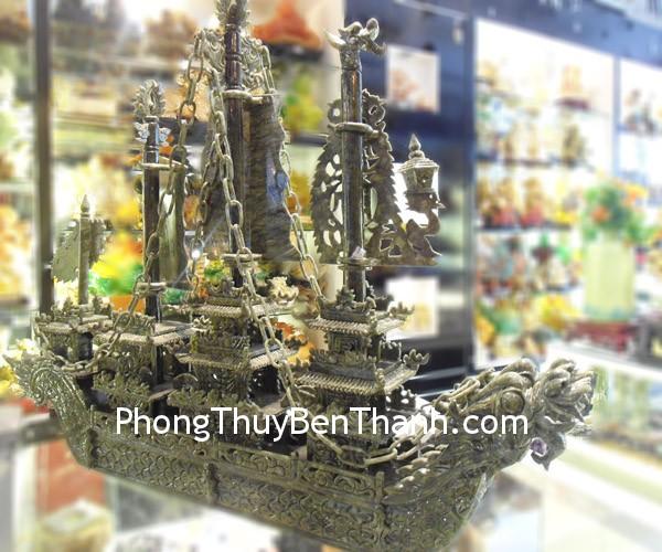 thuyen lam ngoc lon 01 Thuyền buồm rồng đá Lam Ngọc Vân Nam biểu tượng doanh nhân K170