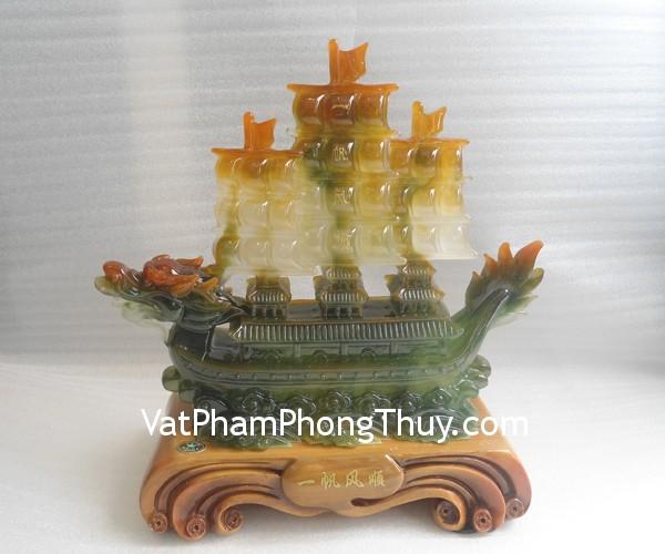 thuyen xanh trung e205 2 Thuyền buồm xanh bột đá màu nhỏ Quảng Đông phát đạt kinh doanh E205
