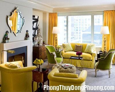 01 footer living room Chọn màu sắc sơn nhà theo ngũ hành