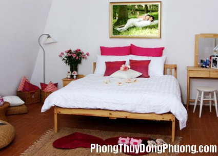 1269487196 phong ngu chuan 4 Bố trí phòng ngủ giúp tình cảm vợ chồng thêm mặn nồng