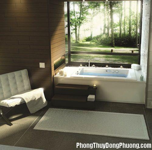 20131219042526774 Phong thủy bài trí phòng tắm hiện đại