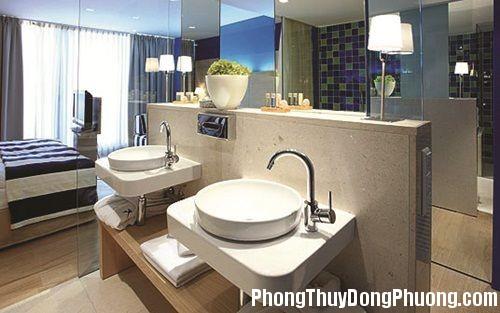 20131219042553061 Phong thủy bài trí phòng tắm hiện đại