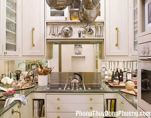 9ebf69da1af4a5e492dcdddb6b8f0a1b 3 Phong thủy bài trí hài hòa cho căn bếp nhỏ