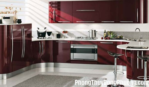 bep 6 Ảnh hưởng của vòi nước đến phong thủy phòng bếp