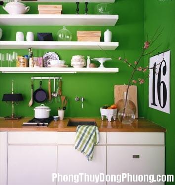 bep1 Bố trí cây xanh trong bếp