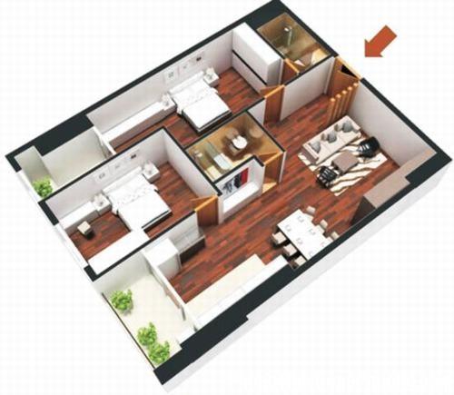 phong thuy chung cu 1 Phong thủy căn hộ chung cư đón khí lành