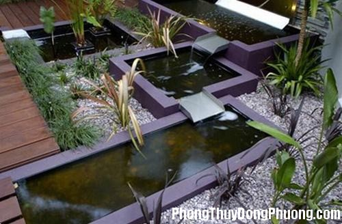 39A tieucanh3 Phong thủy bài trí tiểu cảnh sân vườn