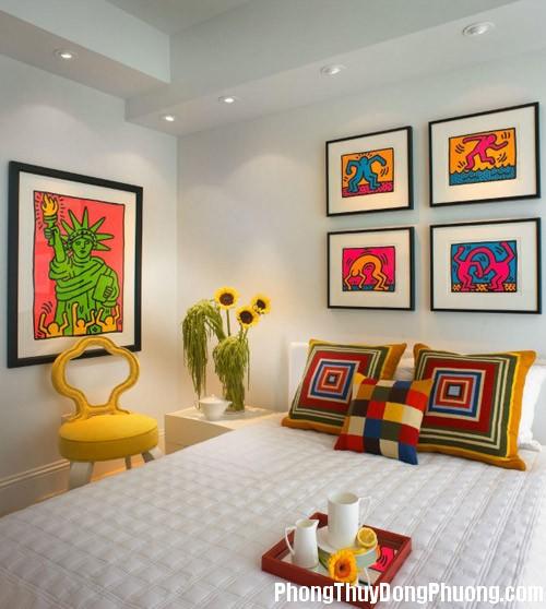515 tranhanh1 Phong thủy tranh trang trí trong phòng ngủ