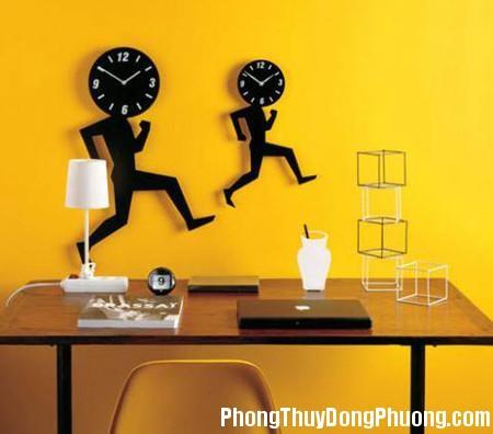 60 cach treo dong ho hop phong thuy1 Treo đồng hồ hợp phong thủy sẽ đem lại luồng khí tốt cho ngôi nhà