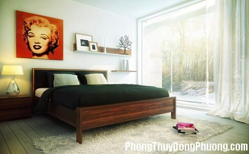 676 tranhanh Phong thủy tranh trang trí trong phòng ngủ