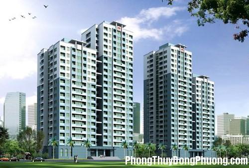 ECC tangchungcu Phong thủy chọn tầng khi mua chung cư