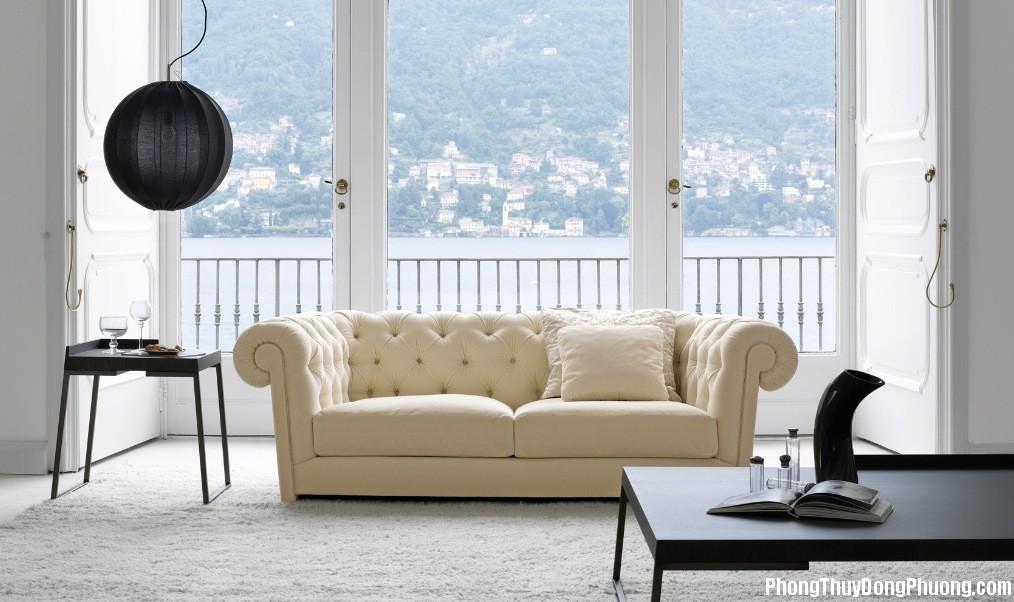 bai tri sofa hop phong thuy 5 Những lưu ý khi bố trí sofa