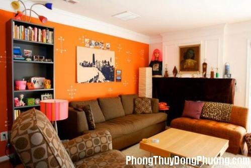file.297637 Sử dụng màu cam trang trí nhà cửa hợp phong thủy