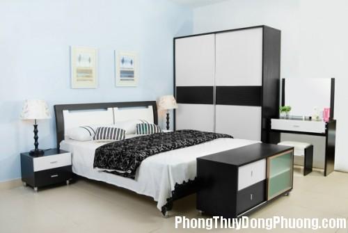 giuongngu4 500x335 Phòng ngủ có phong thủy tốt đem lại giấc ngủ ngon