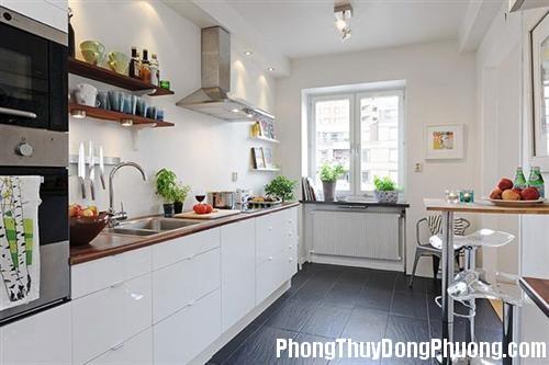 thiet ke noi that phong bep phong cach scandinavi 2 Phong thủy nhà bếp quyết định sự thịnh vượng của ngôi nhà