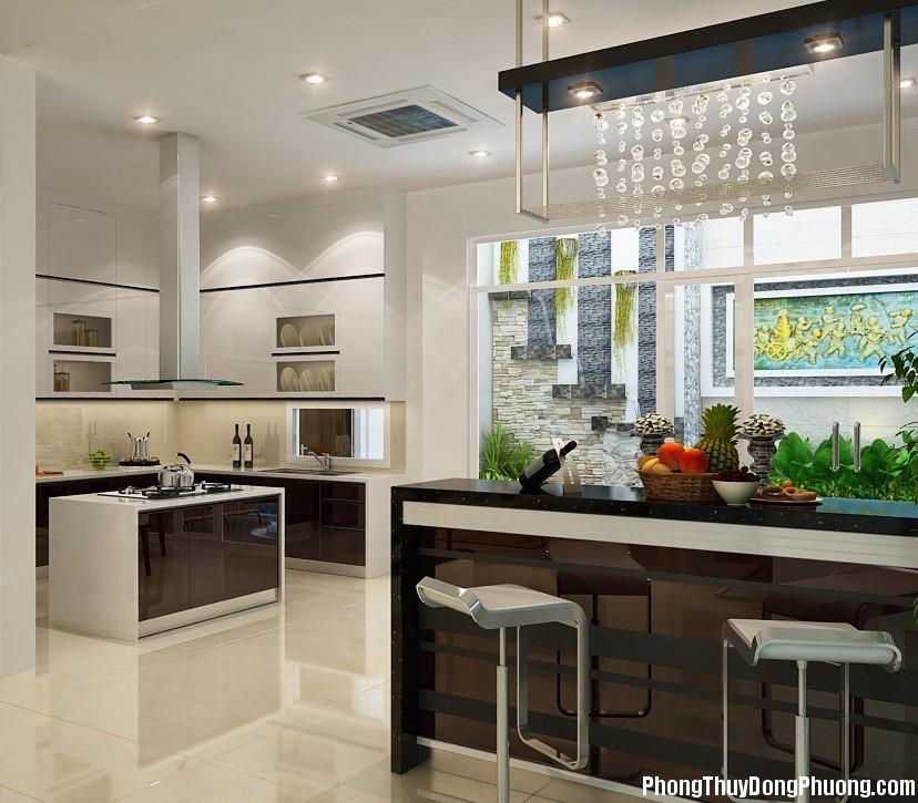 tran thach cao phong bep 3 Phong thủy nhà bếp quyết định sự thịnh vượng của ngôi nhà