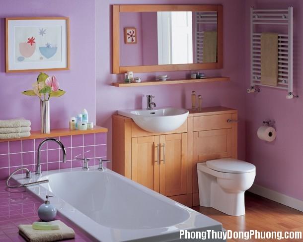 115 Những lưu ý phong thủy khi bố trí phòng tắm