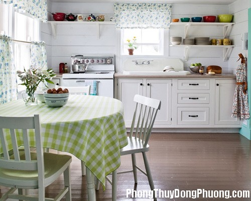 19a Vị trí bố trí phòng bếp thuận phong thủy