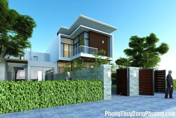 bietthupho chithuythanhhoa1 Phong thủy cho nhà biệt thự
