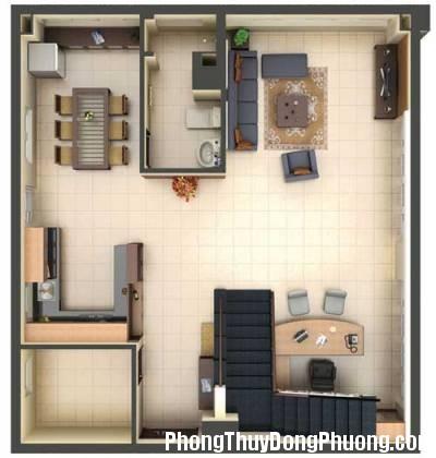 chungcu21 Phong thủy điều chỉnh cho căn hộ chung cư
