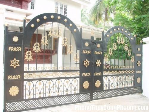 cong3 500x375 Cổng nhà đẹp nâng cao vận khí cho ngôi nhà