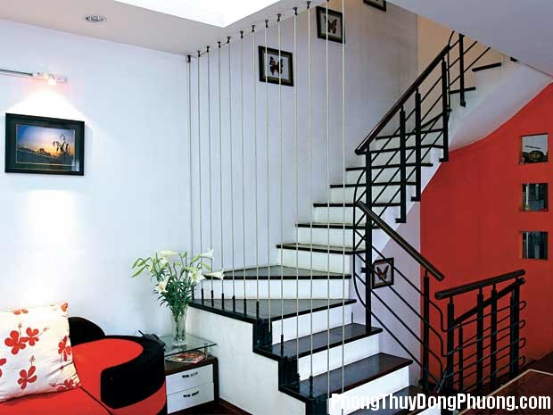 phong thuy cau thang Cầu thang hình xoắn ốc không tốt cho nhà ở