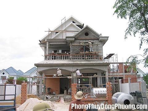 xay nha Cần xem xét địa khí cẩn thận trước khi làm nhà