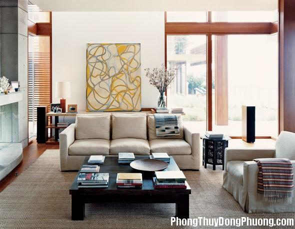 anh1 1 Nguyên tắc phong thủy trong bài trí phòng khách