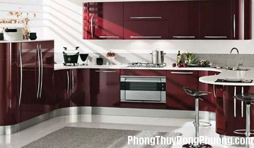 bep 6 Phòng bếp không nên đối diện với cửa chính
